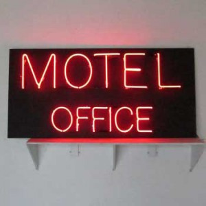 Motel office