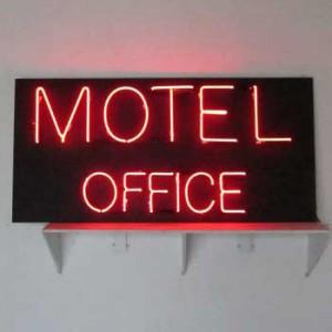 Motel office