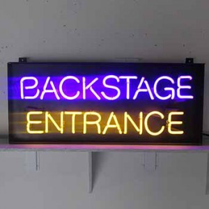 Backstage Entrance