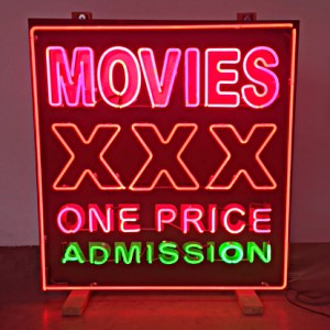 MOVIES XXX ONE PRICE ADMISSION