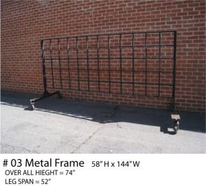 roof top metal frames metal structures