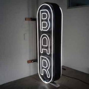 bar exterior double sided