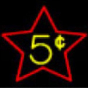 5¢ cents Star