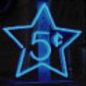 5¢ Five Cents Star