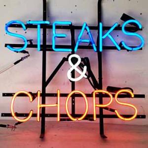 STEAKS & CHOPS butcher restaurant meat