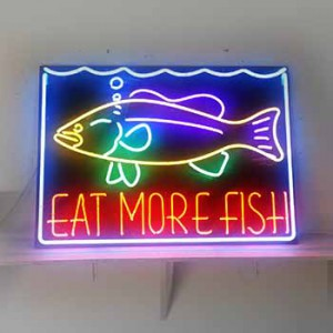EAT MORE FISH fish market fish  seafood