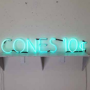 CONES 10¢ Ten Cents
