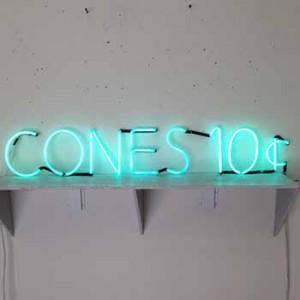 CONES 10¢ Ten Cents