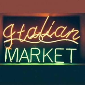 Italian Market Italian food pasta pizza