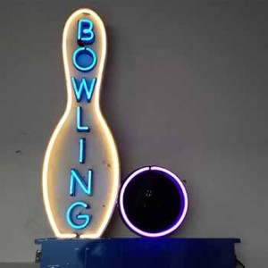 bowling bowling ball pins
