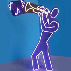 music band horn trumpet jazz musical instruments club man