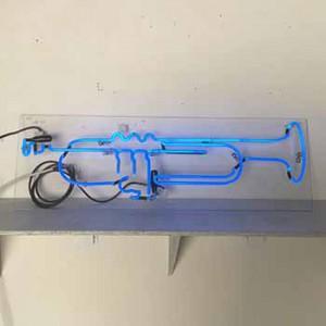 Trumpet Horn Blue
