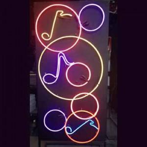 circles music notes panel
