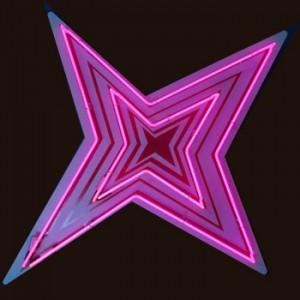 Abstract Star Pink stars