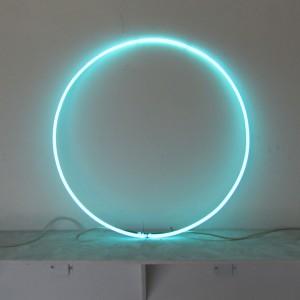 """Aquamarine Circle 27"""""""