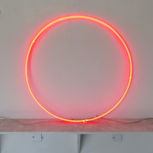 "Neo Ruby Circle - 30"" - (neon only)"