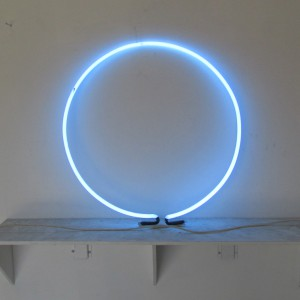 "Voltarc Blue Circle - 28"" - (neon only) - (2 available)"