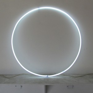 "6500 White Circle - 30"" - (neon only)"