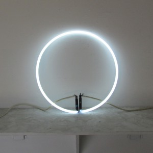"6500 White Circle - 15"" - (neon only)"