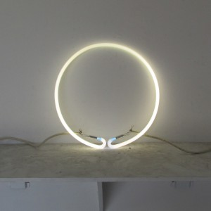 "3500 White Circle - 14"" - (neon only)"