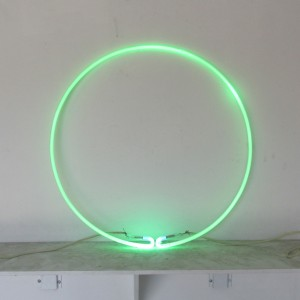 "Green Circle - 28"" - (neon only)"