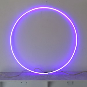 "Purple Circle - 32"" - (neon only)"