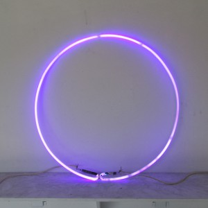 "Purple Circle - 28"" - (neon only)"