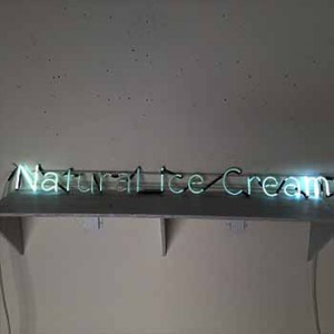 Natural ice Cream