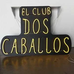 El Club Dos Caballos Spanish club Mexican latino cowboy cowboys