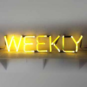 Weekly Week Days