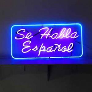 Se Habla Espanol Spanish