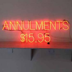 Annulments $15.95