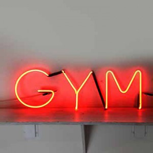 Gym storefront fitness health