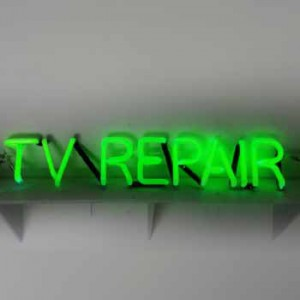 T V repair electronics