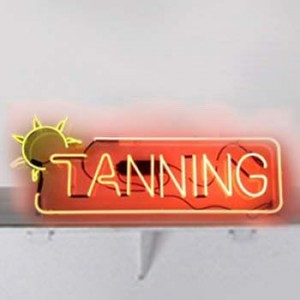 TANNING with Sun tanning salon gym fitness