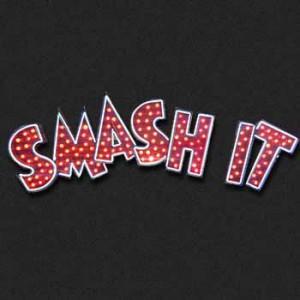 smash it bar light bulb letters auto club arcade fair carnival