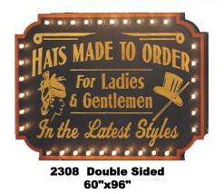 hats 30's 20's 40's exterior