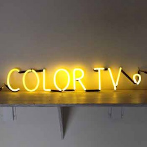 COLOR TV Yellow