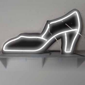 Heels Shoe white