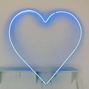Blue Heart  Valentines Day Valentine