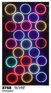 circle circles  shapes shape Chinese asian Japanese panels 80's