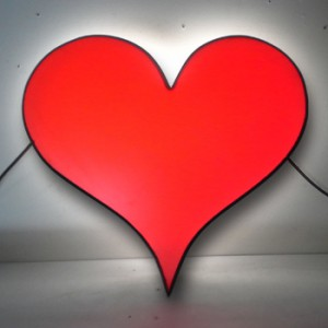 Heart Lightbox  Valentines Day Valentine