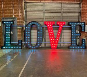 love marquee wedding