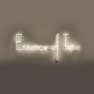 Essence of Time Wood Neon Series Lisa Schulte neon sayings words