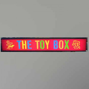 The Toy Box Electrical light box Toys