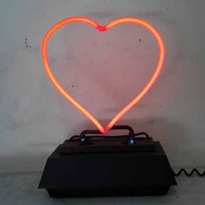 Red Heart Center Piece