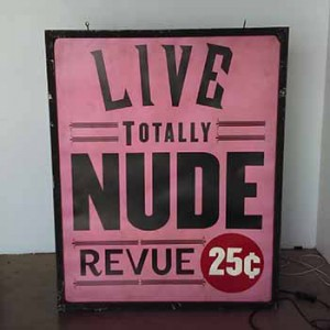 live totally nude revue 25 cents adult xxx lightbox light box