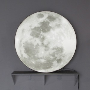 Moon Digital Print Lightbox Light-Box light box