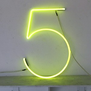 5 five number numbers