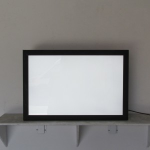 Lightbox - Black Frame Light Box